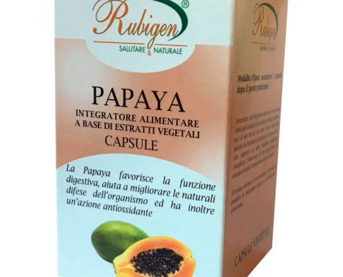 papaya in capsule integratore alimentare