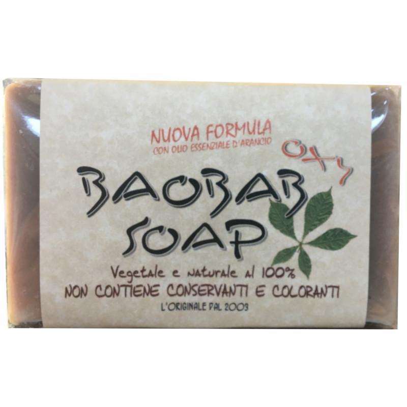 sapone con foglia di baobab
