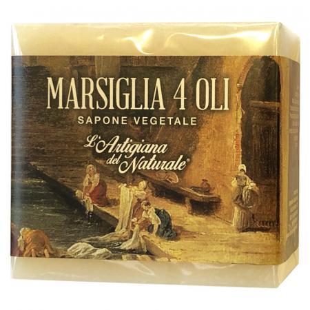 Sapone di Marsiglia ai quattro oli