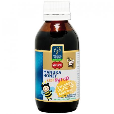 Sciroppo con miele di Manuka MGO250 specifico per i bambini