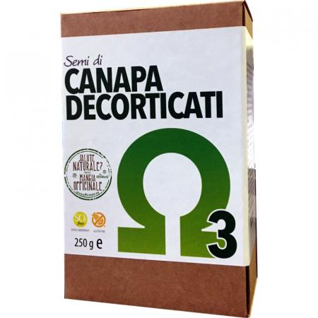semi di canapa decorticati