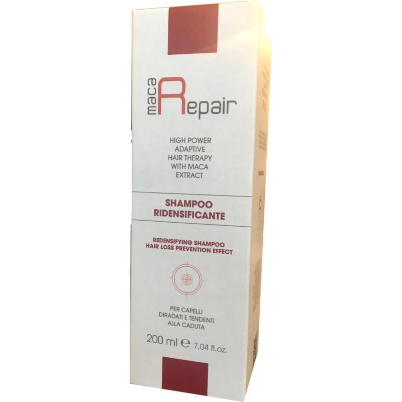 shampoo ridensificante maca repair