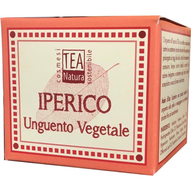 unguento iperico infiammazioni Tea Natura VeganOK