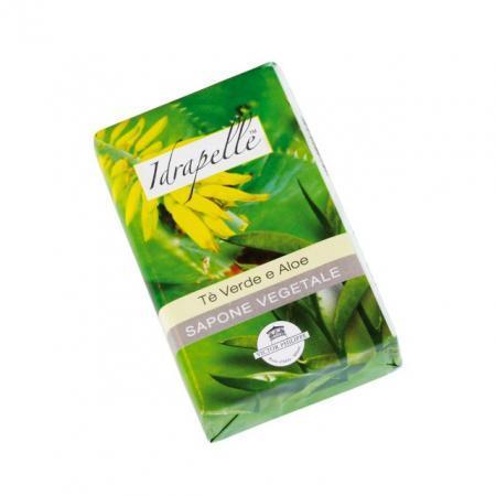 sapone vegetale tè verde e aloe