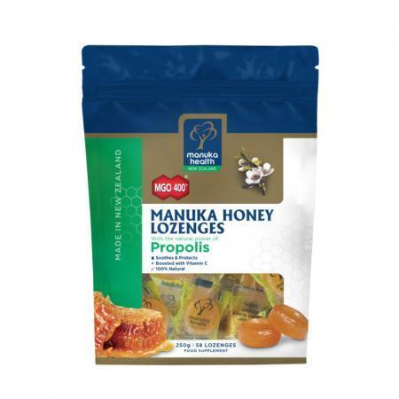 Caramelle miele di Manuka e Propoli busta richiudibile da 58 caramelle