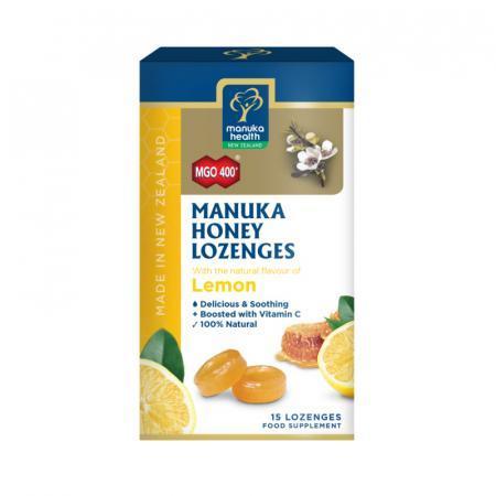 Caramelle con Miele di Manuka e Limone, confezione da 65 gr