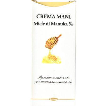 Crema Mani con miele di Manuka bio