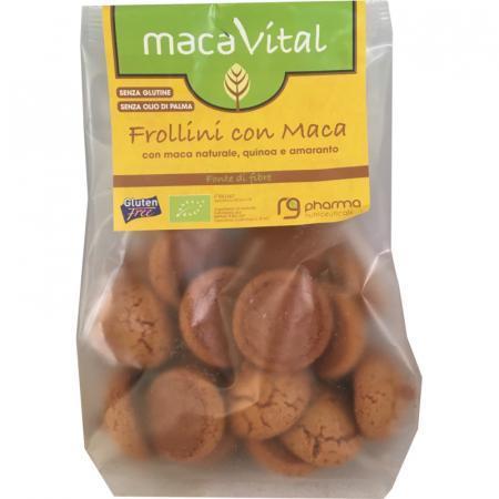 Frollini con maca, lo snack per nutrire fisico e mente con apporto di proteine