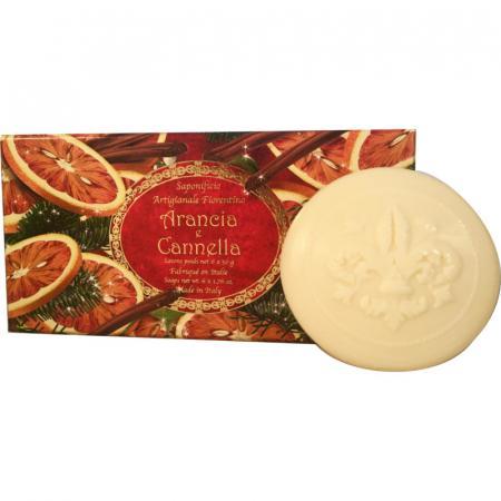 sapone arancia cannella natale