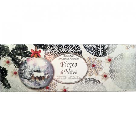 saponi natalizi fiocco di neve