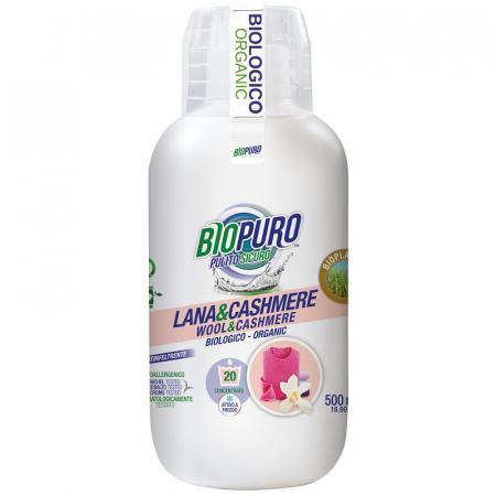 Lana e cashmere ecodetersivo Biopuro