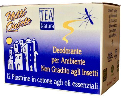piastrine antizanzare agli oli essenziali Tea Natura