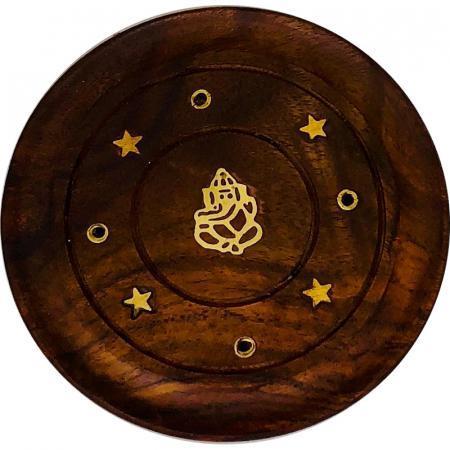 Porta Incensi in legno intagliato