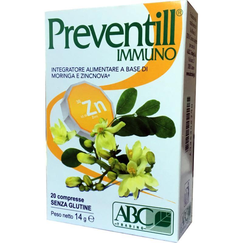 preventill con moringa oleifera e zinco