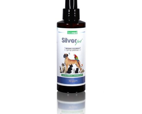 silver pet argento colloidale cani gatti uso veterinario da 30 ppm
