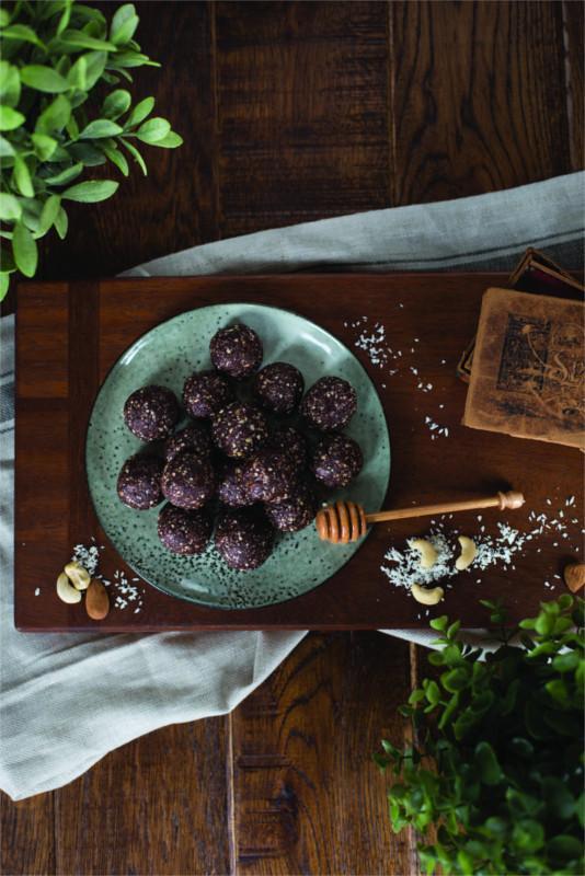 palline di cacao con miele di Manuka ricetta