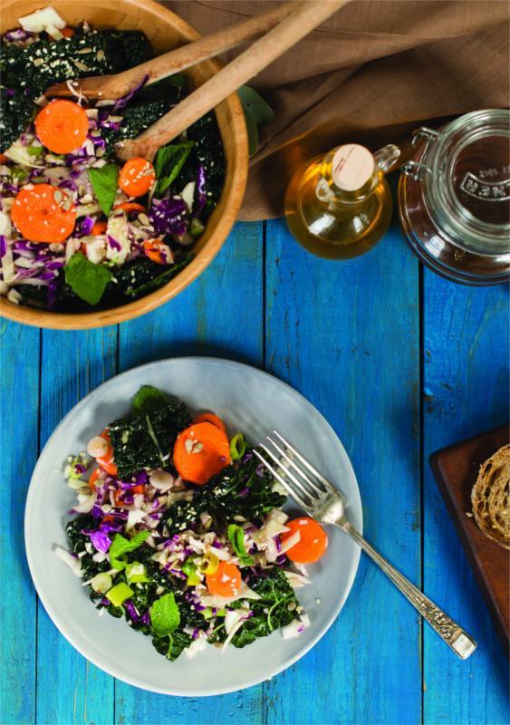 salad con miele di Manuka