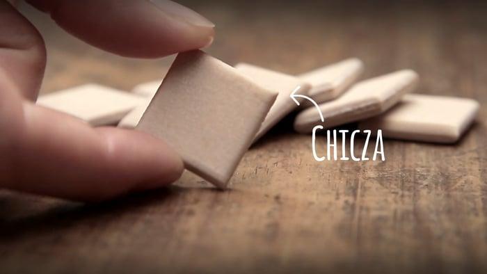 Chicza l'unico chewing gum naturale al 100%
