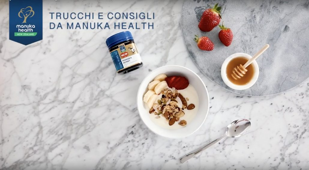Miele di Manuka a colazione