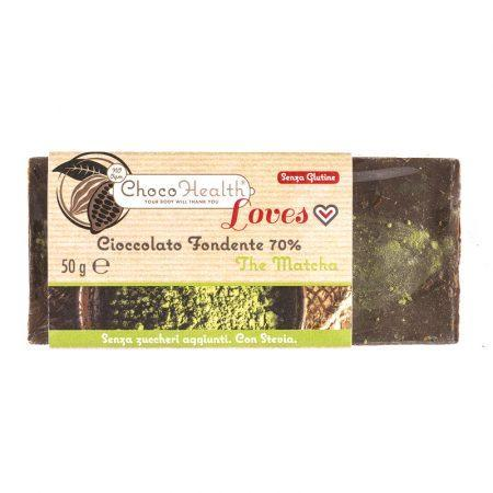 Cioccolato fondente the matcha Choco Health