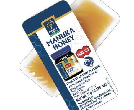 Miele di Manuka on-the-go bustina 5 grammi