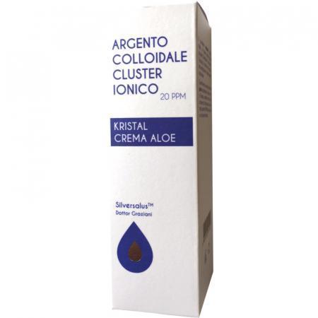 crema aloe e argento colloidale da 20 ppm