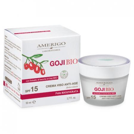 crema viso anti age con estratto di bacche di Goji BIO Amerigo