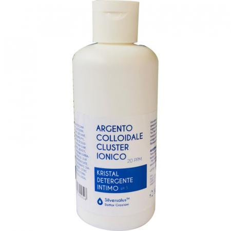 detergente intimo con argento colloidale da 20 ppm