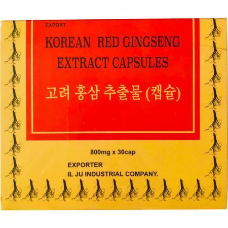 Ginseng Coreano estratto in capsule