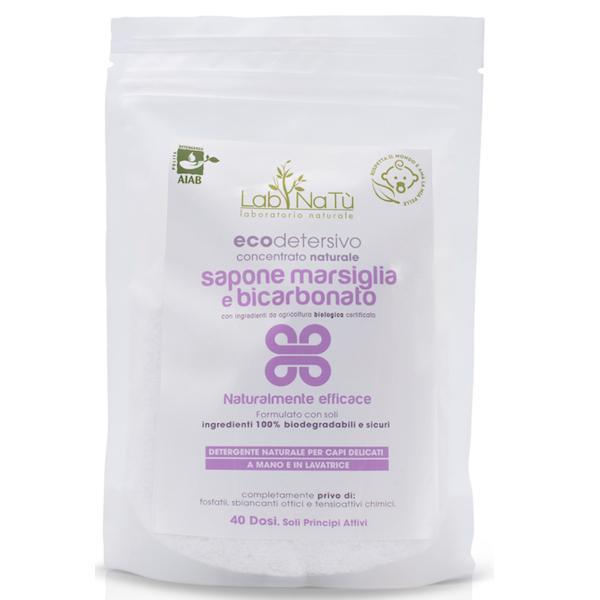 Sapone di Marsiglia e Bicarbonato ecodetersivo