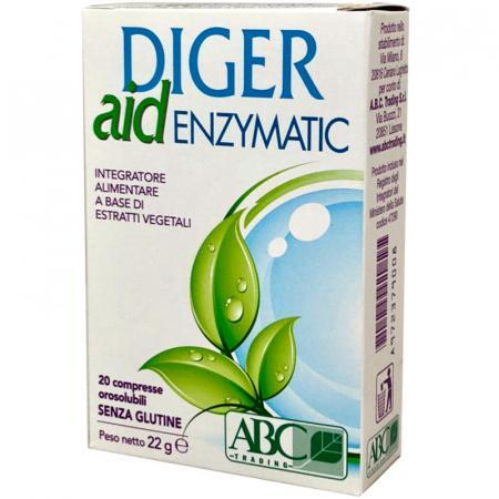 diger aid enzymatic integratore naturale per la funzione digestiva