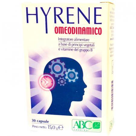 hyrene omeodinamico per favorire il rilassamento mentale