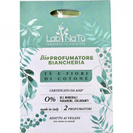 Profumatore Biancheria Tè e fiori di Cotone