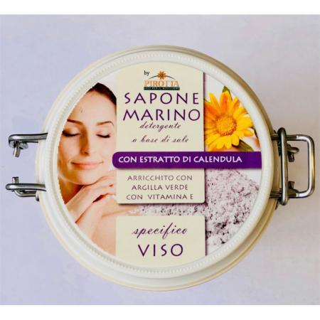 Sapone Marino per scrub viso per pelli con acne