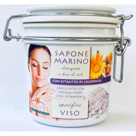 Sapone Marino alla Calendula per pelli con acne