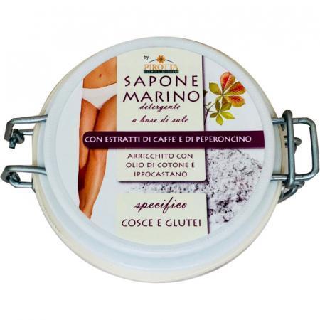 Sapone Marino scrub corpo per cosce e glutei con caffè e peperoncino
