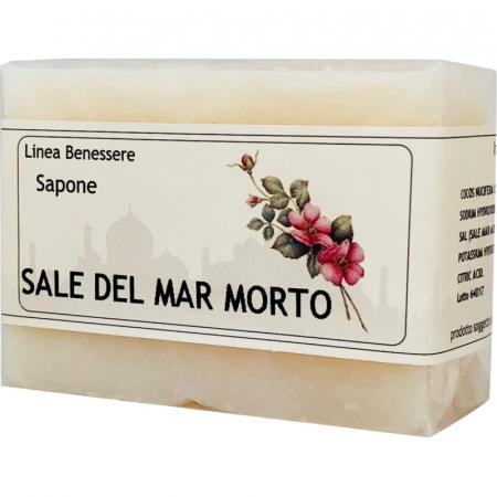 saponetta con Sale del Mar Morto