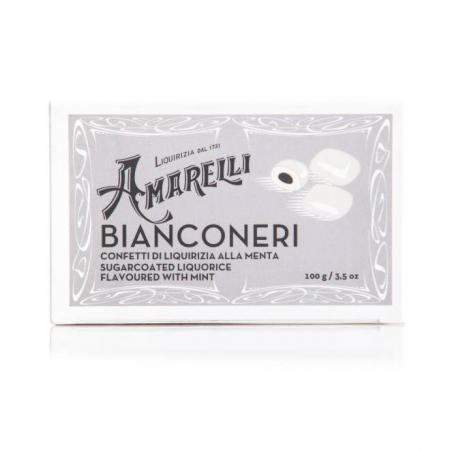 liquirizia bianconeri da Amarelli