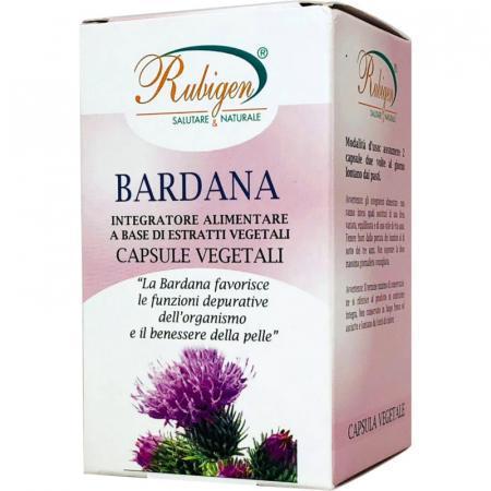 bardana radice in capsule vegetali da natur farma