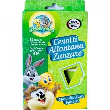 Cerotti allontana zanzare per bambini con looney toons