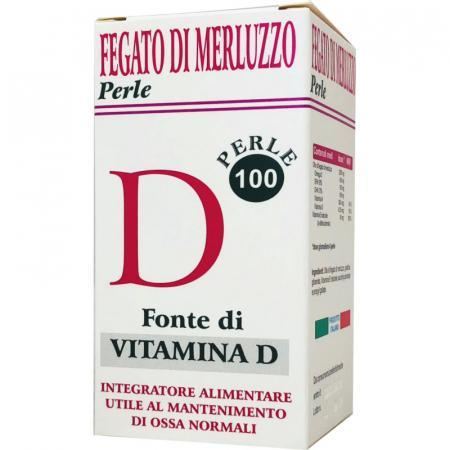 Fegato di Merluzzo in perle, fonte di Vitamina D