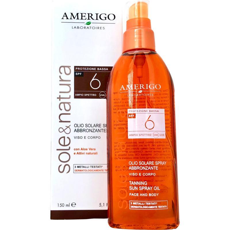 Olio Solare spray abbronzante SPF 6