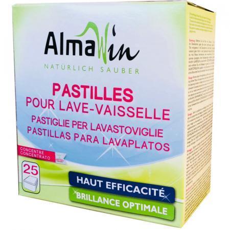 Pastiglie per Lavastoviglie vegetali e concentrate Almawin