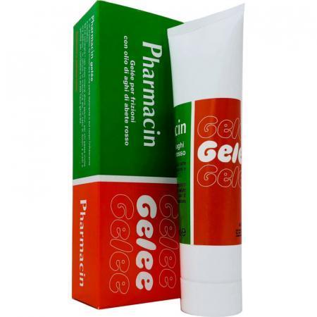 pharmacin gel per frizioni con aghi di abete rosso per strappi muscolari