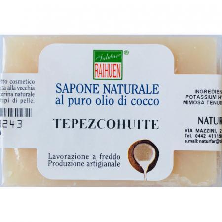Sapone naturale Tepezcohuite