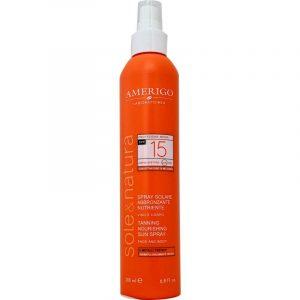 Spray Solare Abbronzante Nutriente SPF 15