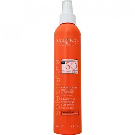 Spray Solare protettivo e nutriente Amerigo SPF 30