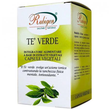 Tè verde in capsule vegetali da Natur Farma