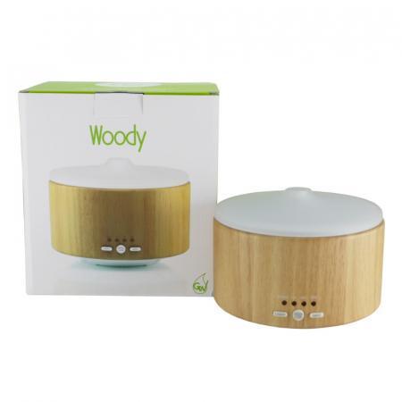 Woody diffusore di aromi ad ultrasuoni con regolazione del vapore