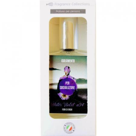 fragranza con Water Violet fiori di Bach